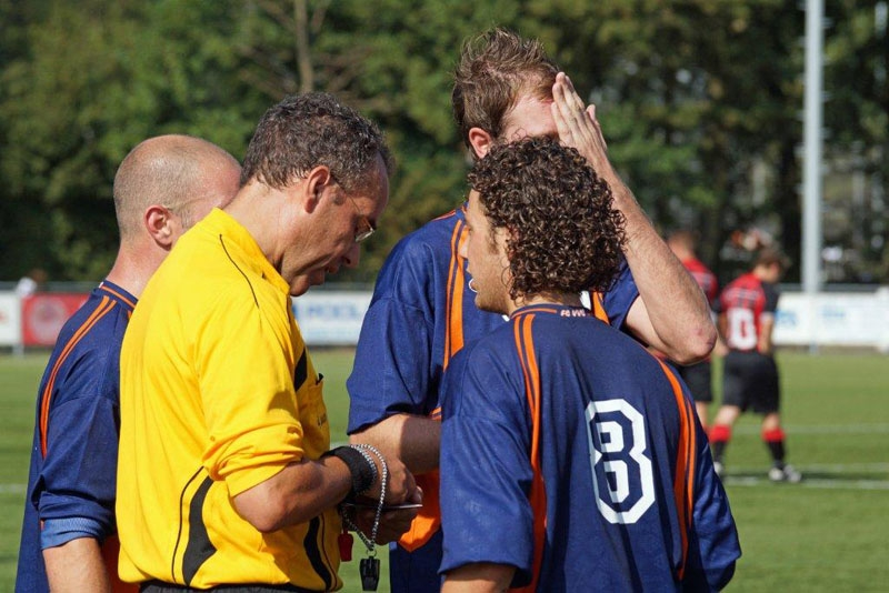 Check your whistle ref! – Rodric Leerling